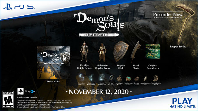 Demons Souls Deluxe Edition