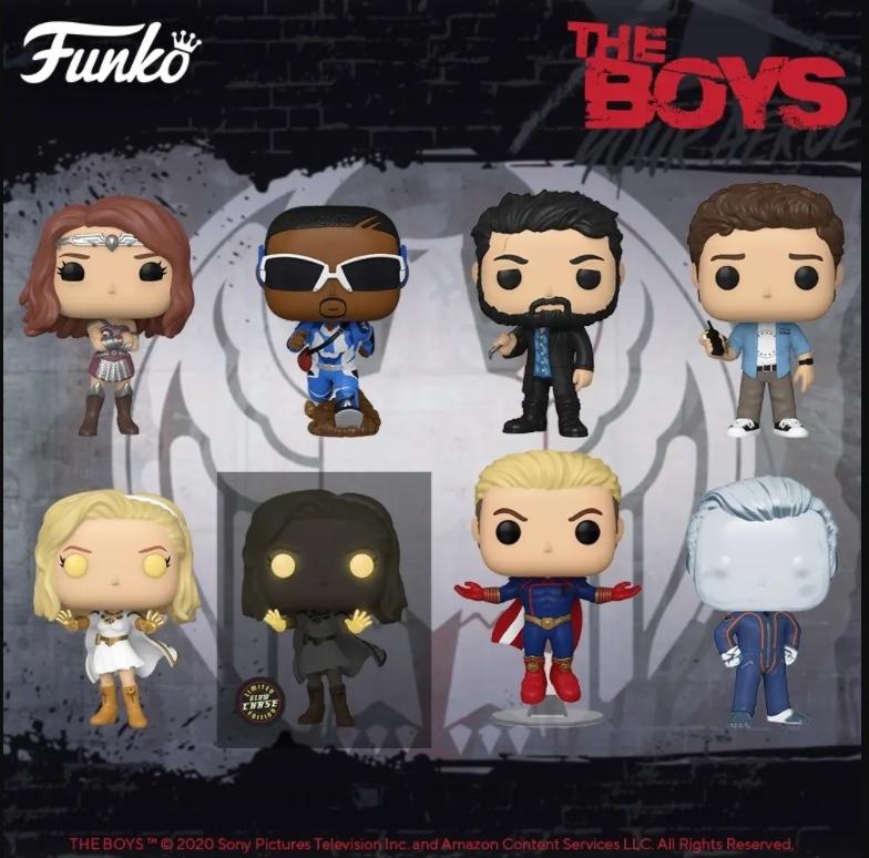 The Boys figuras Funko