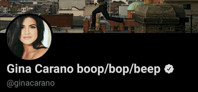 Gina Carano comentario transfobico