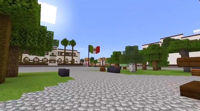 Zocalo de Nuevo Leon en Minecraft