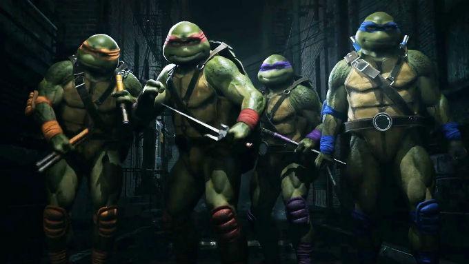 Tortugas ninja en Injustice Mortal Kombat