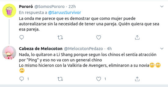 Mulan es criticada por remover a Li Shang, un icono LGBTQ+
