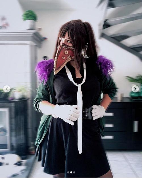 My Hero Academia: Overhaul cambia de sexo gracias al cosplay