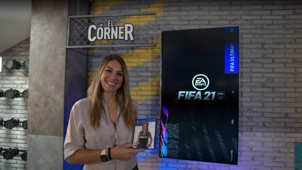 Voz femenina de Nira Juanco en FIFA 21.