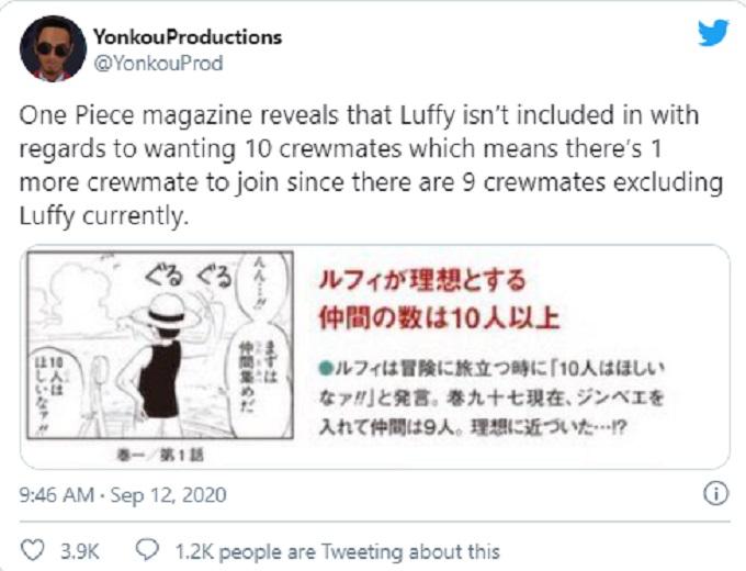 Captura de la One Piece Magazine