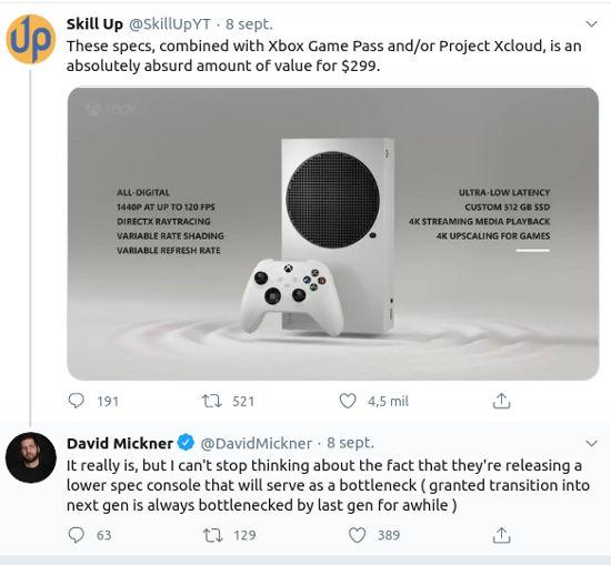 Desarrolladores creen que el Xbox Series S les traerá problemas