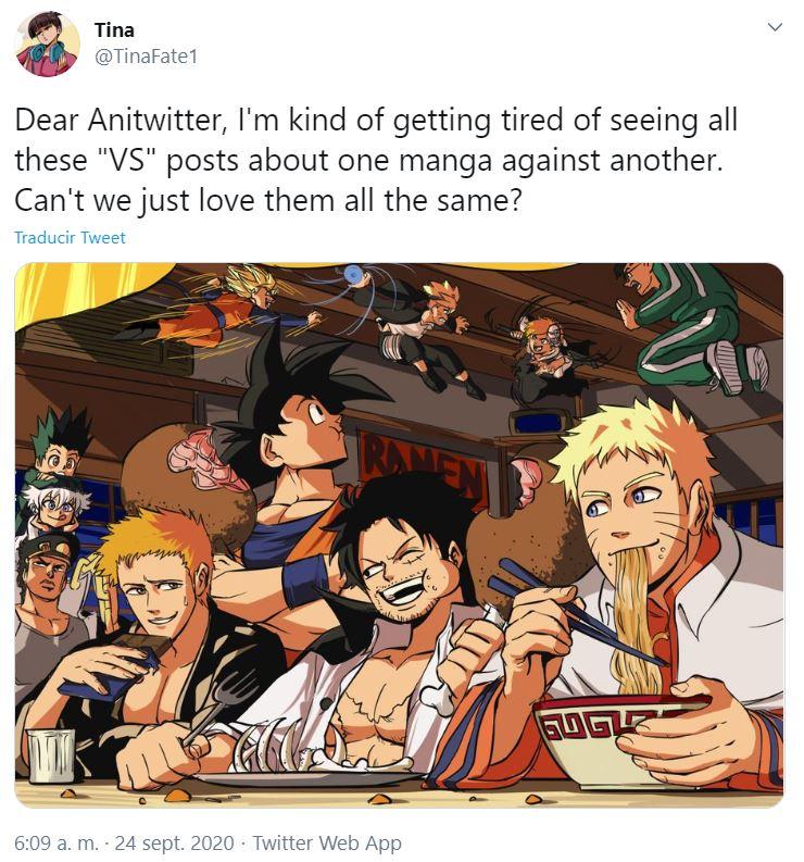 Ichigo, Goku, Luffy y Naruto fanart.