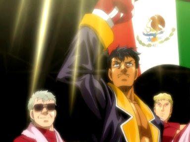 Personajes mexicanos en el anime.