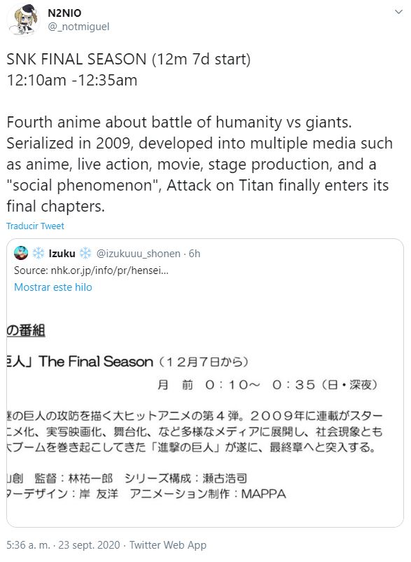 shingeki no kyojin temporada final