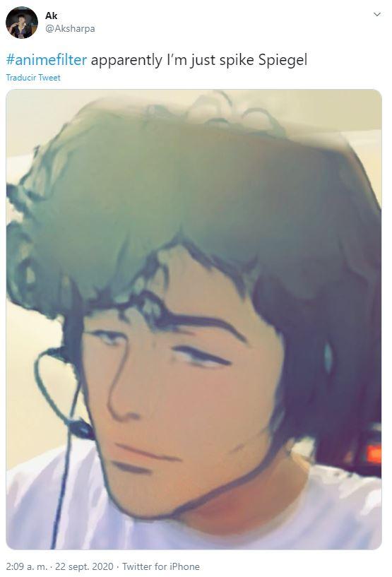 filtro anime #animefilter