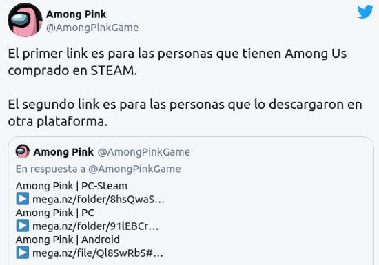 Among Us: ¿Cómo descargar Among Pink?