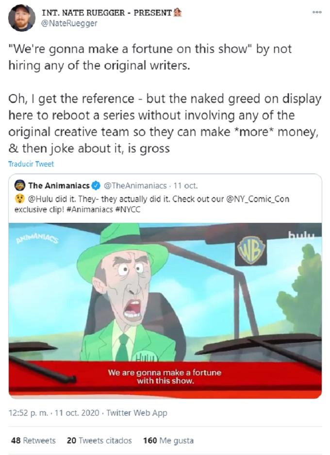 Animaniacs-Tweet
