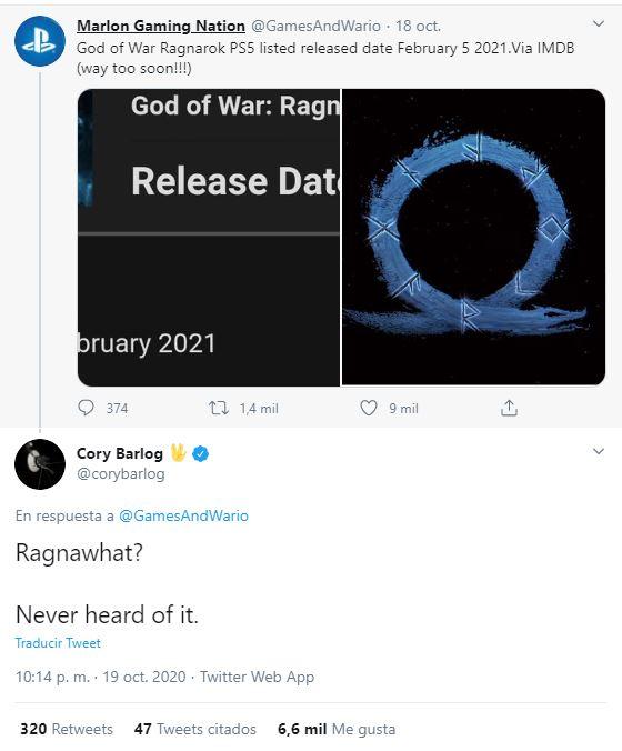 God of War 5 filtracion estreno