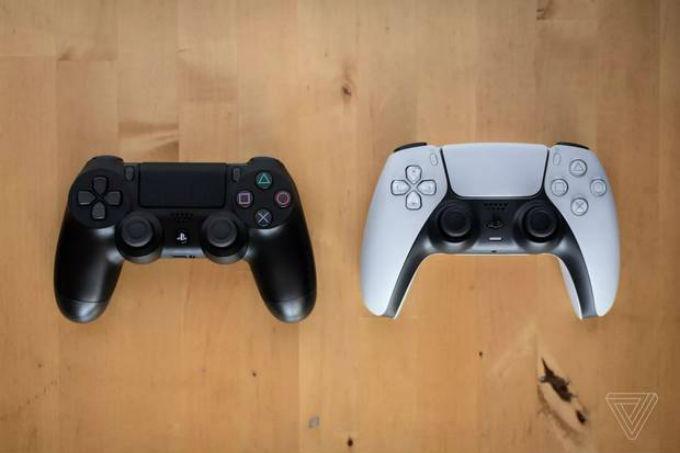 Control de PlayStation 5 comparado con PlayStation 4 Xbox