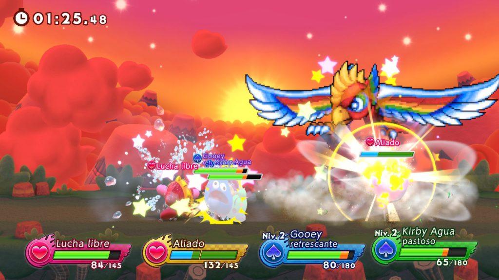 Dyna Blade en Kirby Fighters 2