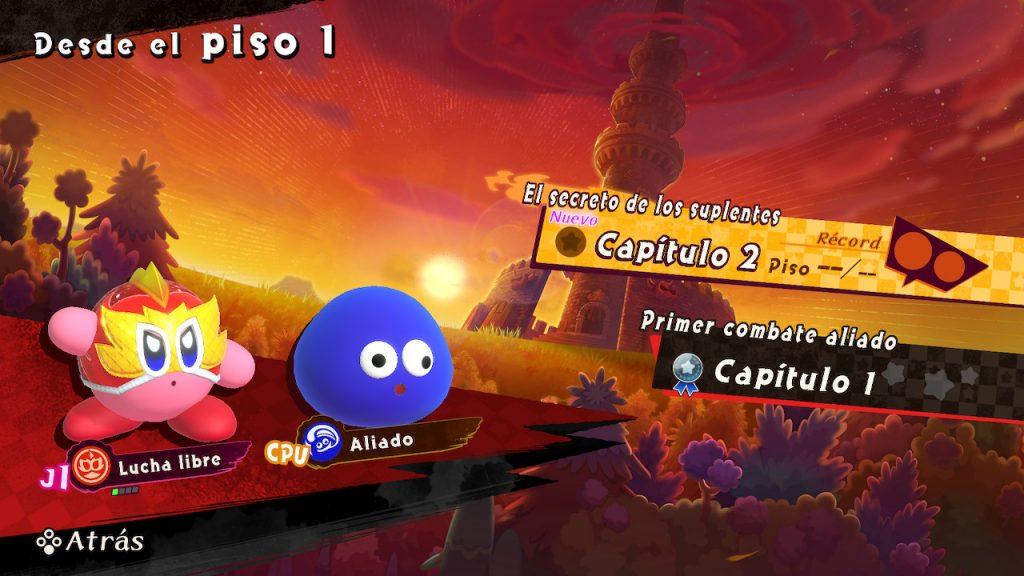 Kirby y Gooey en Rivales Jurados