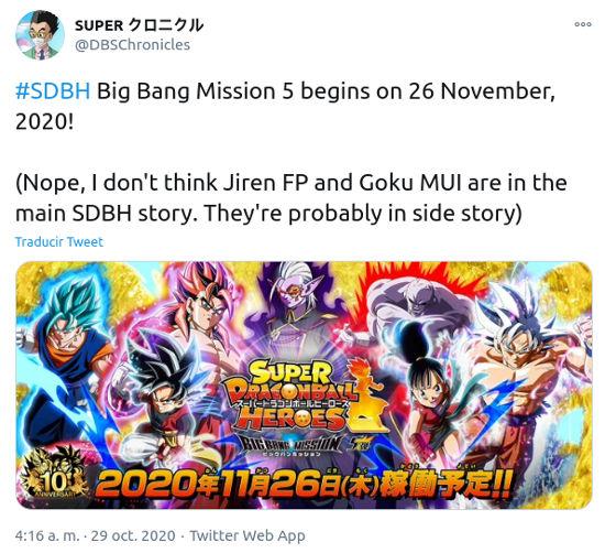 Super Dragon Ball Heroes ya tiene fecha de regreso
