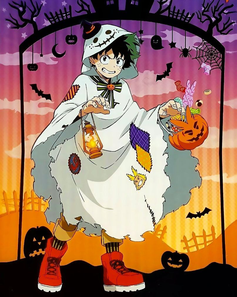 my hero academia halloween