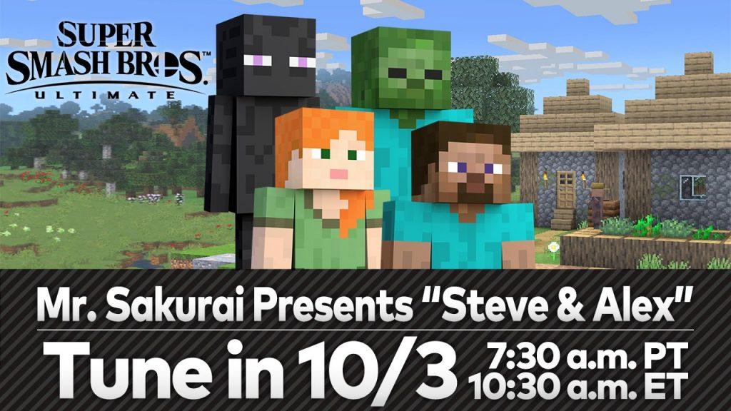 Suèr Smash Bros. Ultimate Minecraft