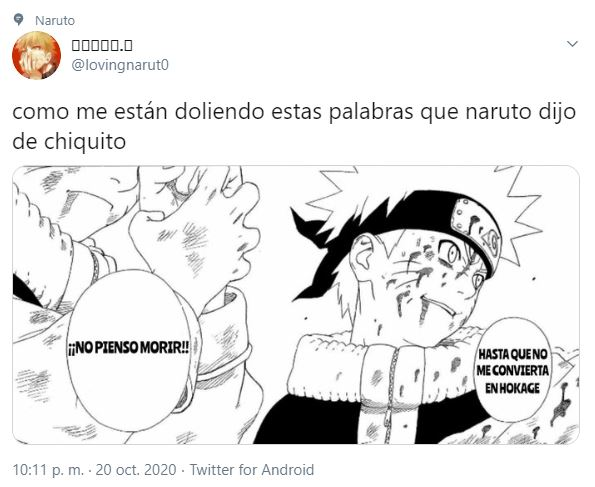 Naruto muerte en Boruto