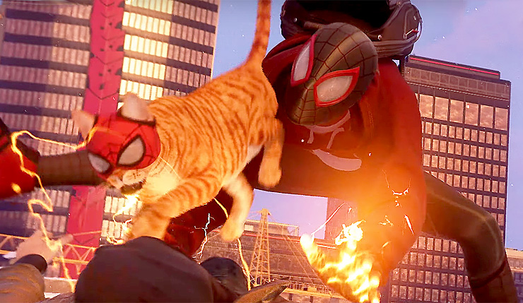 Spider-Cat en Spider-Man: Miles Morales.