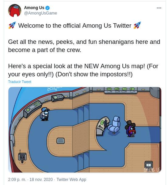 Among Us conseguirá un nuevo mapa