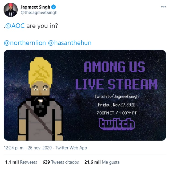 Stream Politicos Among Us