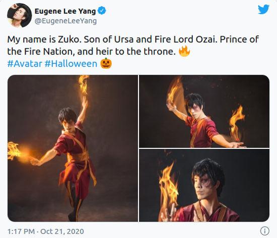 Avatar: La leyenda de Aang consigue fantásticos cosplays
