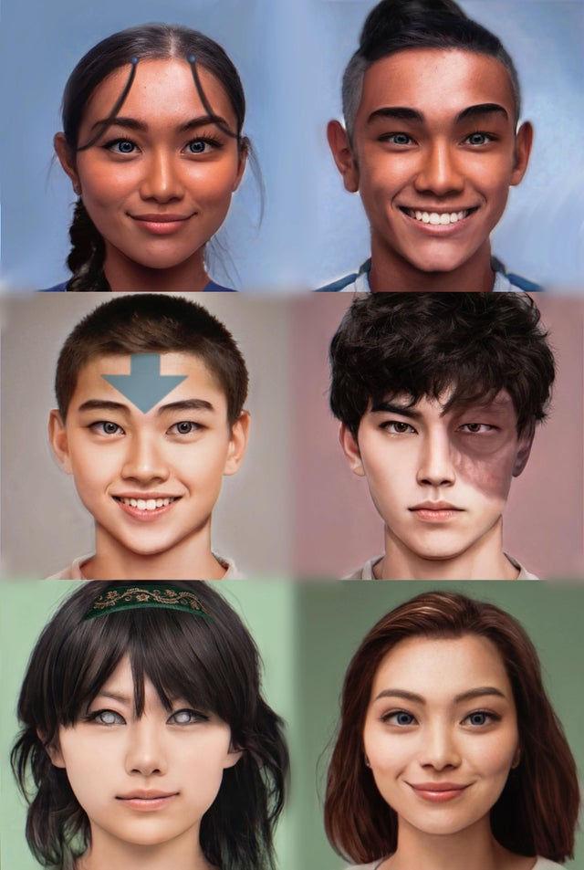 Avatar: La leyenda de Aang con una dosis de realismo