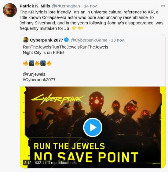 Keanu Reeves sí existe en Cyberpunk 2077