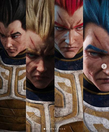 Dragon Ball Z: Así se vería Vegeta con un estilo realista