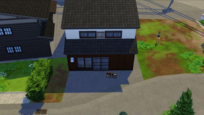 Los Sims 4 Escapada en la Nieve Edificio