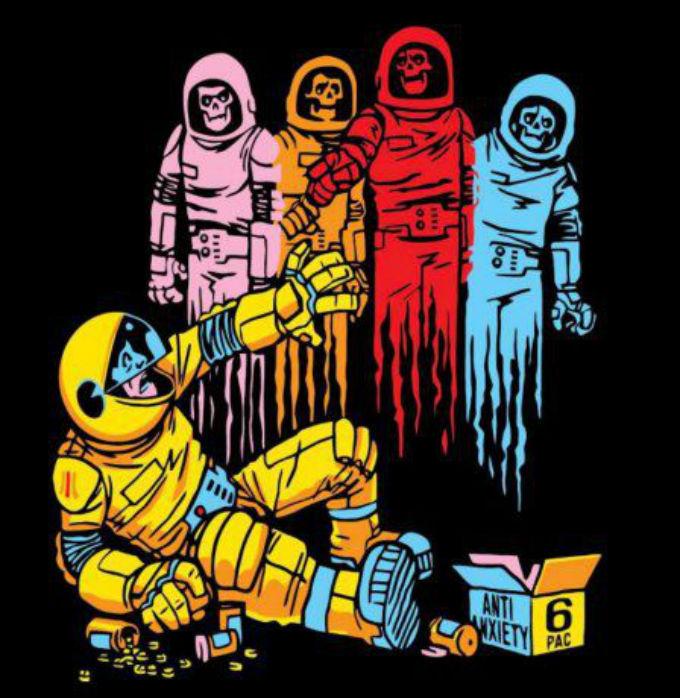 Among Us Pacman Fanart