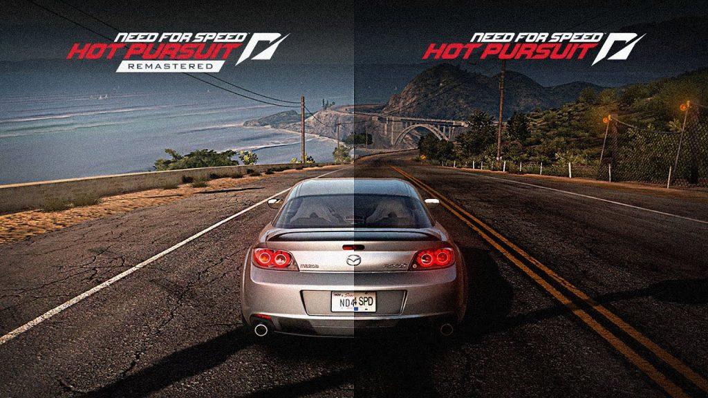 Comparación de Need For Speed Hot Persuit original y la versión remastered