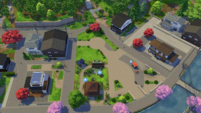 Sims Escapada en la nieve Senmabachi
