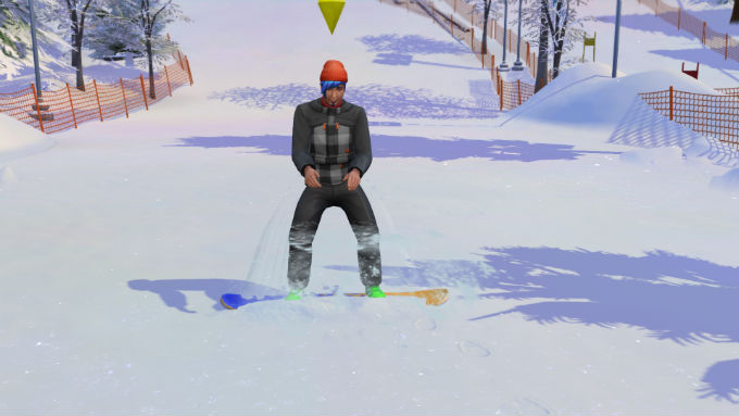 Sims Snowboard