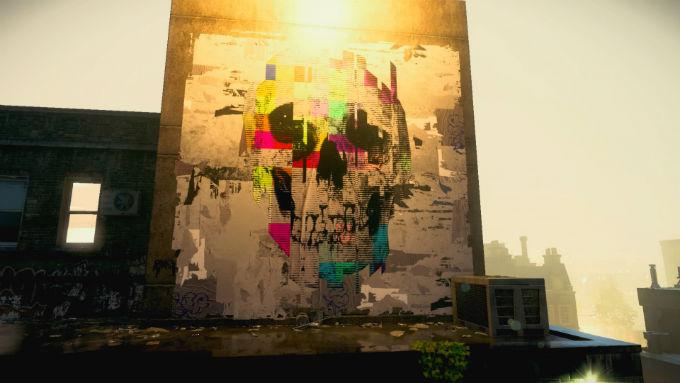Graffitti Watch Dogs Legion