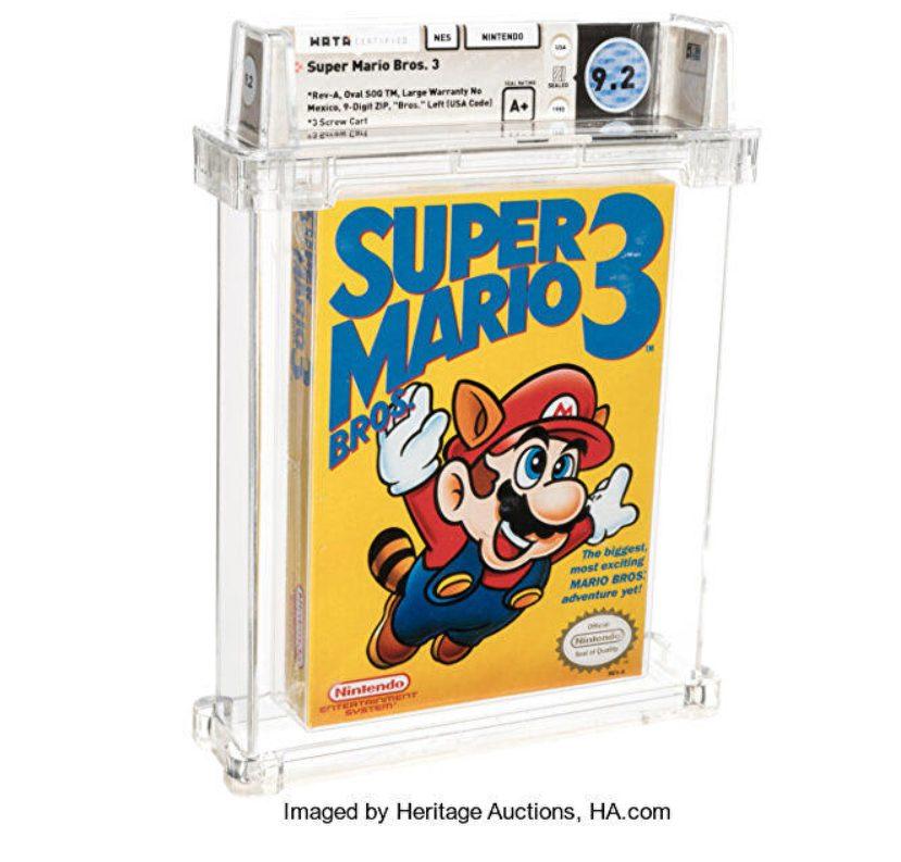 Super Mario Bros. 3 es el juego más caro del mundo.