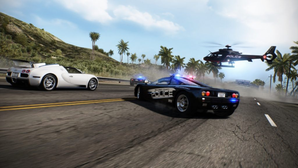 Policías en Need for Speed Hot Persuit Remastered