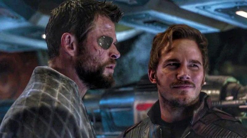 Thor y Star-Lord