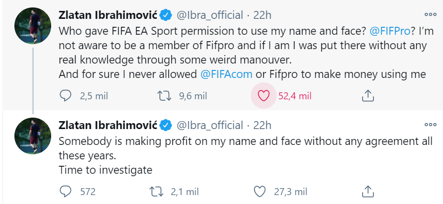 Zlatan FIFA