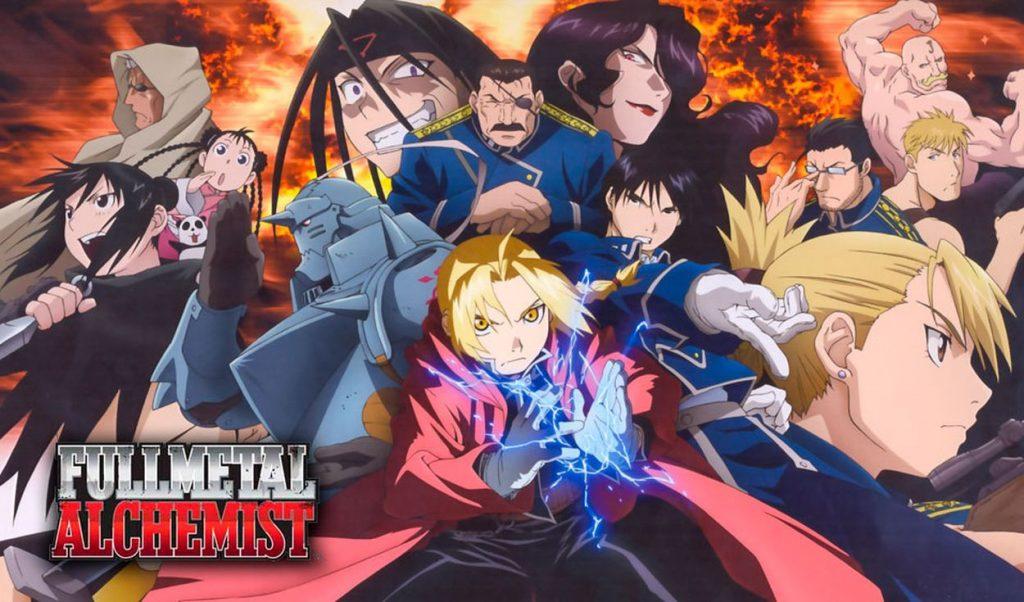 Fullmetal Alchemist y Jujutsu Kaisen.