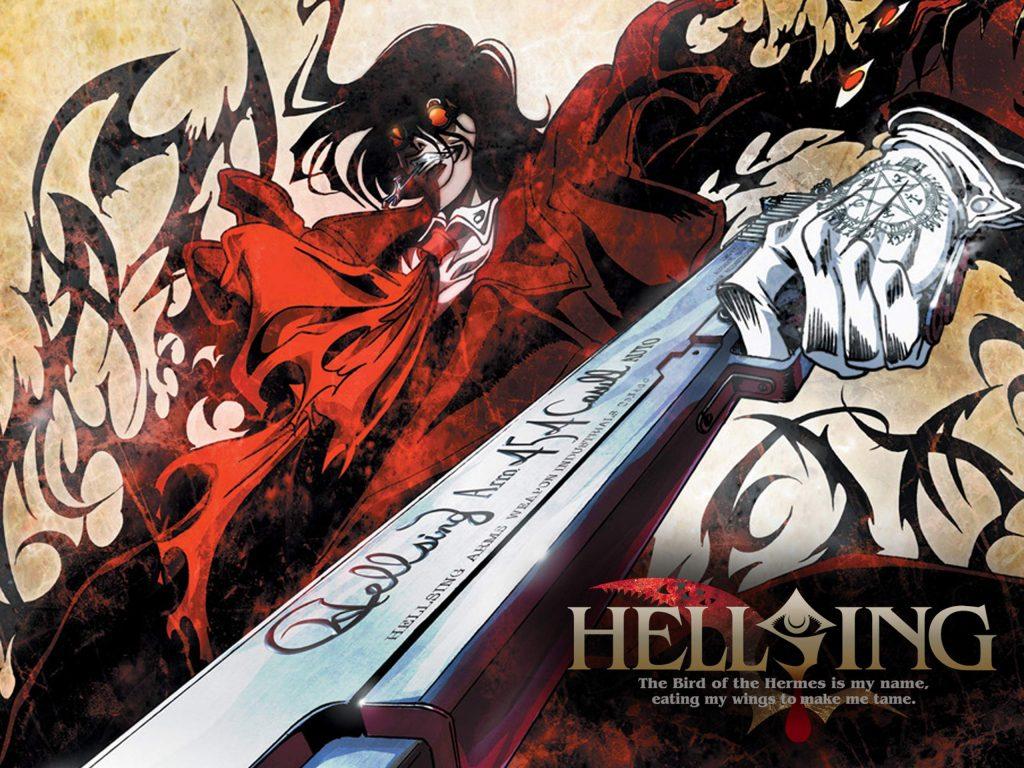 Hellsing y Jujutsu Kaisen.