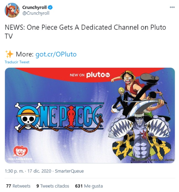 One-Piece-Canal-Pluto-TV