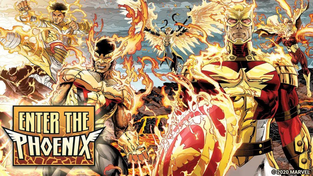 El final de Universo Marvel se decidirá con el destino de los Avengers en Enter the Phoenix.