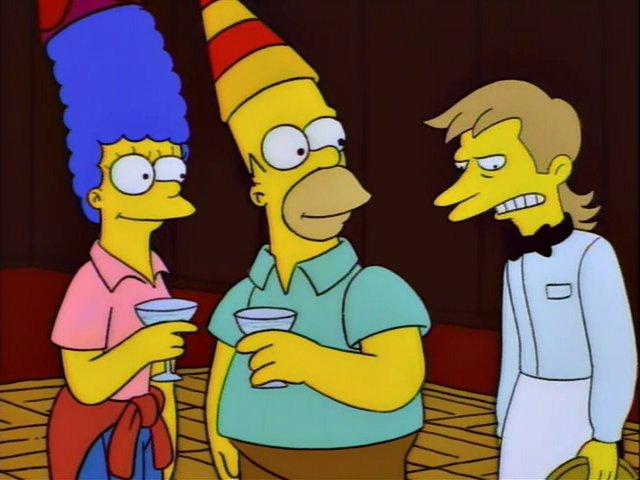 Feliz año nuevo Los Simpson