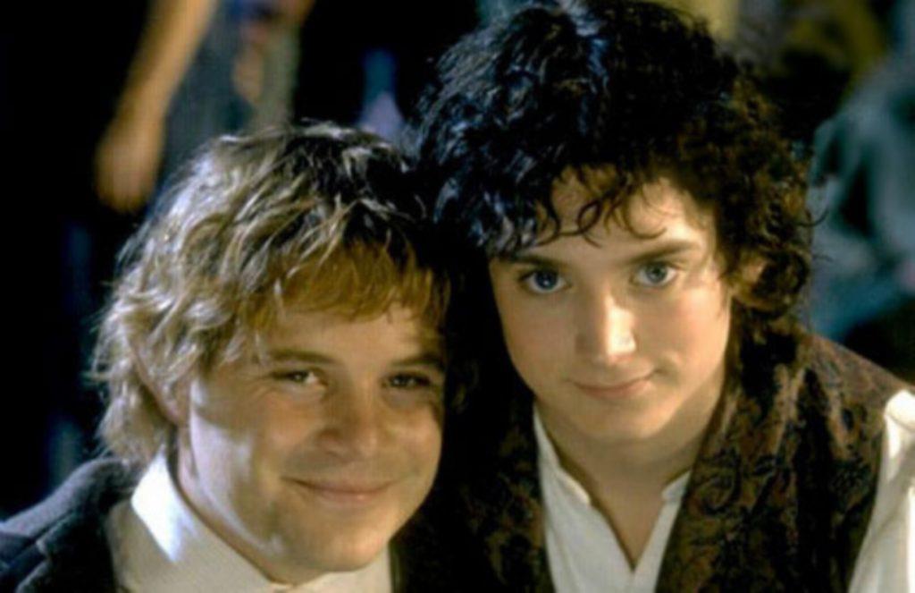señor de los anillos, sam, frodo