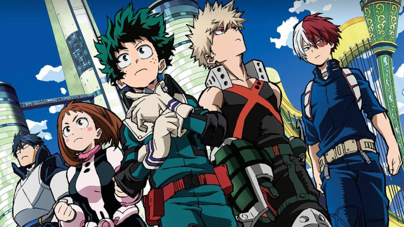 my hero academia, boku no hero, estreno, anime