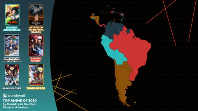 Crunchyroll sudamerica