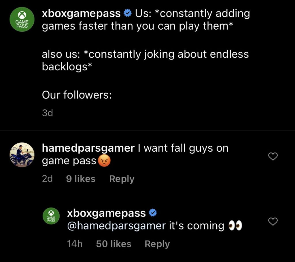 xbox, fall guys, game pass